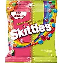 Skittles Sweet & Sour Candy 191g Peg Bag
