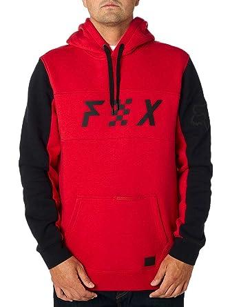 Fox Mens Harken Pullover Fleece, Dark Red, ...