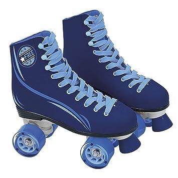 Muñecas Saica patines azul bota 4 ruedas - talla 33 YlAMJPRldf
