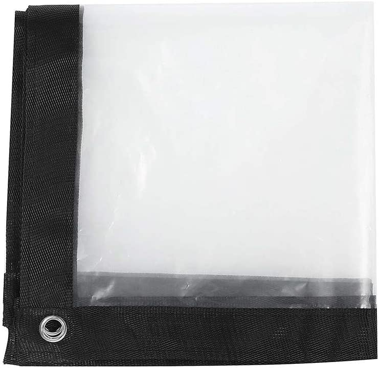 透明ターポリンフィルムキャノピー鳥防止フロントガラスガーデンPE防雨ツール霜防止断熱ターポリン,5*5m
