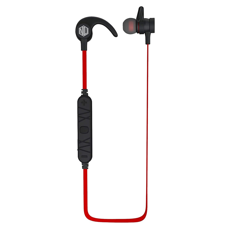 Nu Republic Nu Jaxx Wireless Earphones with Mic (Red)