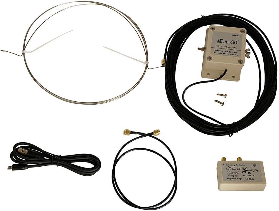 JENOR 1 Set MLA-30 Loop Antena Activa de Bajo Ruido Receptor ...