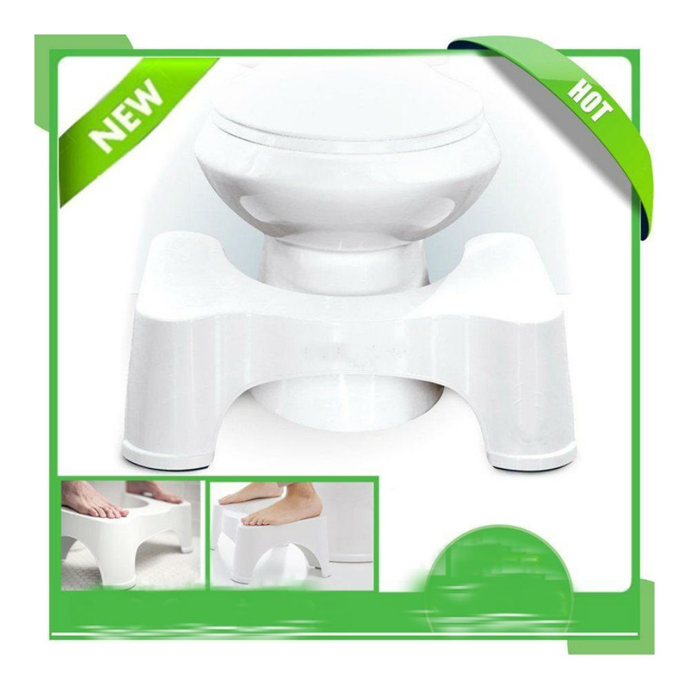 Toilet Step Stool Bathroom Potty Squat Aid For Constipation Piles Relief by Unknown