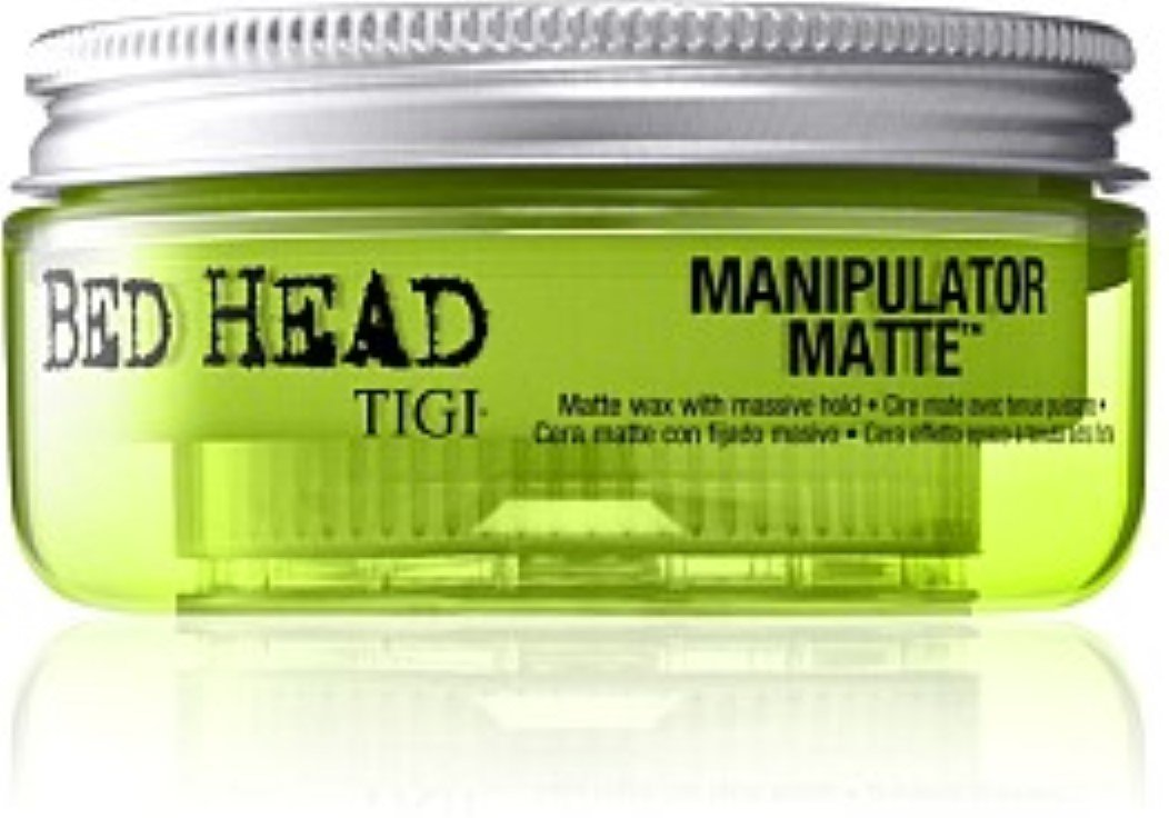 TIGI Bed Head Manipulator Matte Hair Wax for Strong Hold, 56.7 g pack of 2