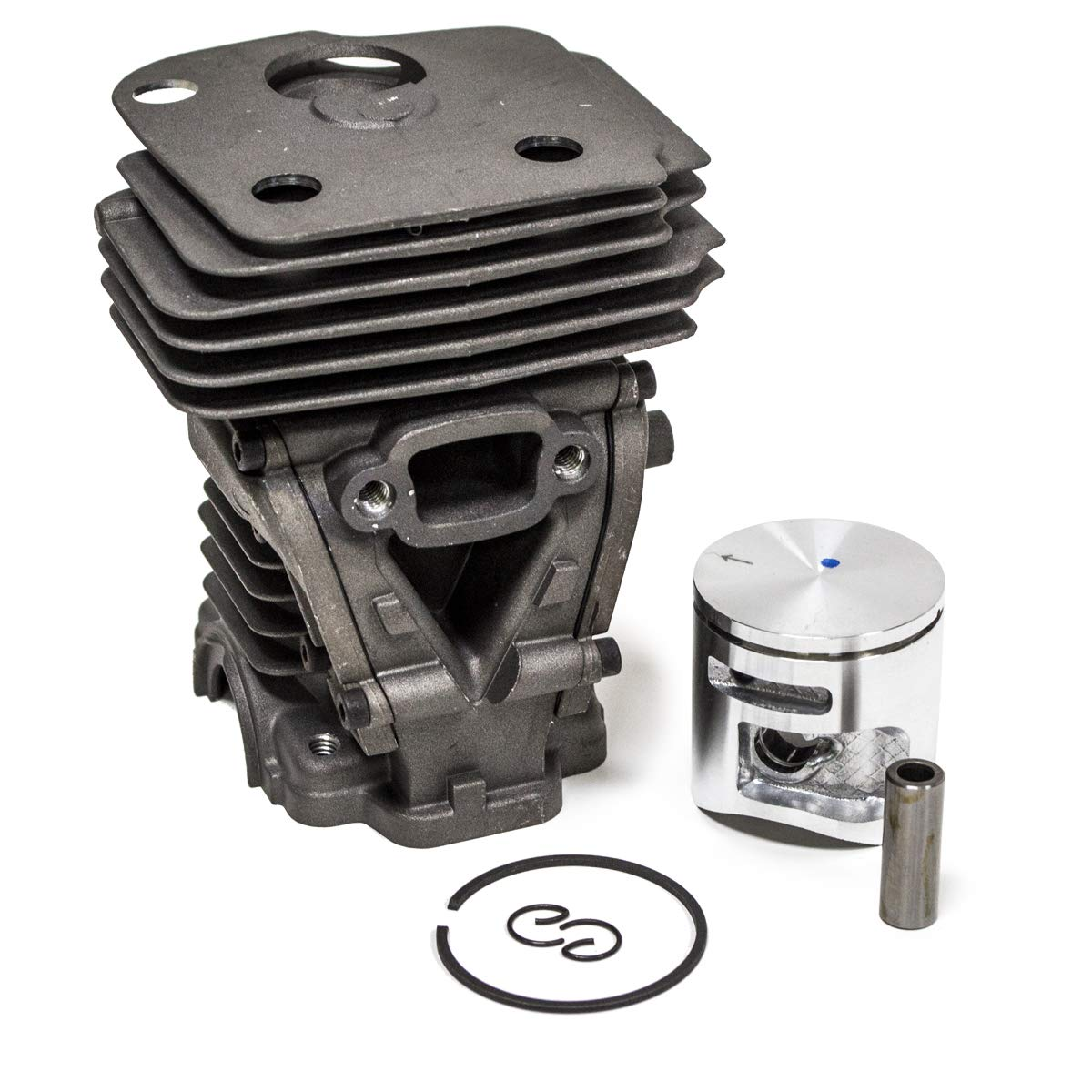 44MM Cylinder Piston Kit for Husqvarna 445E 450 450E 445 Chainsaw 544 11 98 02 by Replaces Husqvarna