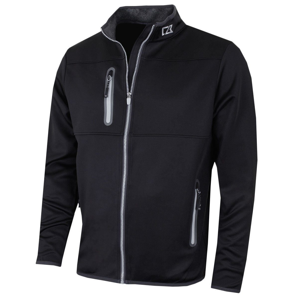 61341f56917 Amazon.com : Cutter & Buck 2017 Mens Water Resistant Montana Full Zip  Performance Golf Jacket : Clothing