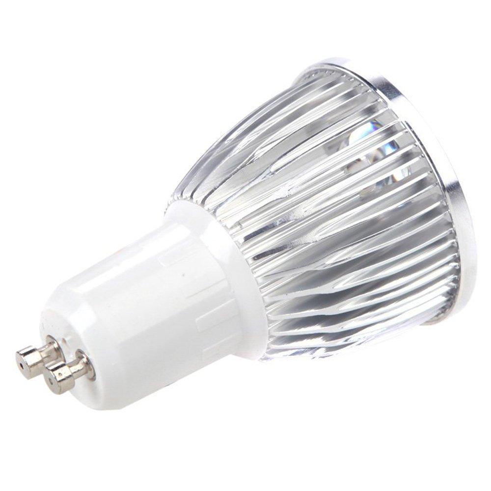 CUHAWUDBA GU10 pianta 5W LED coltiva la luce lampada idroponica Lampadina dellenergia Risparmio 4 rosso 1 blu per Indoor piante da fiore della crescita vegetale a effetto serra 85-265V