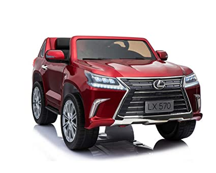 Amazon Com Luxury 4x4 Edition 2 Seats Lexus Lx570 2x12v Kids Ride
