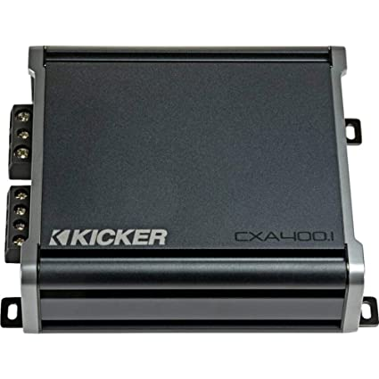 Kicker 46CXA4001 Car Audio Class D Amp Mono 800W Peak Sub Amplifier  CXA400 1 New
