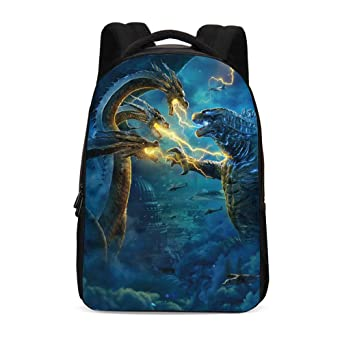 Godzilla Backpack,Godzilla King Of The Monsters Backpack School Bags For Student Men Women by A&C Hero