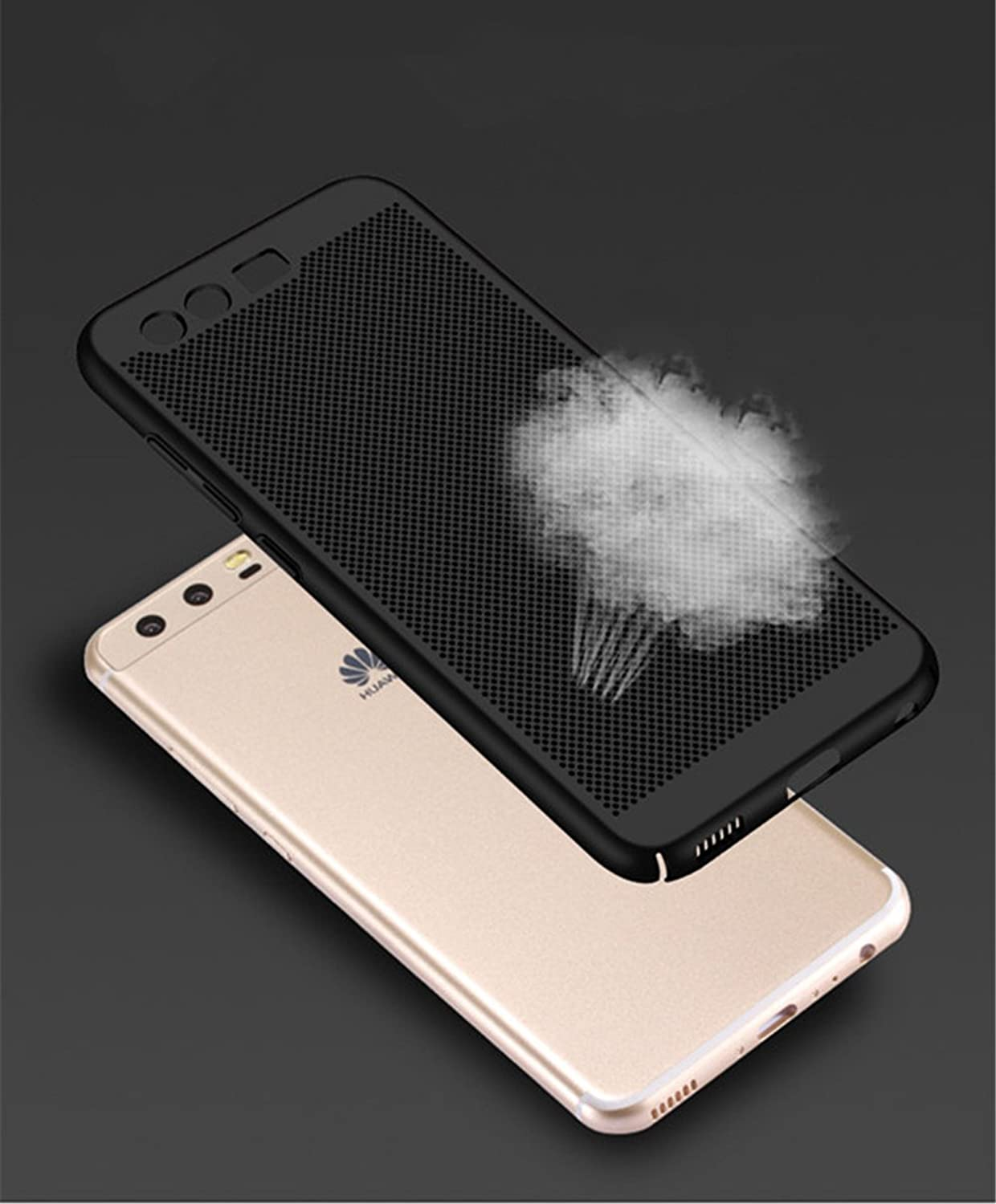 Amazon.com: Huawei P10 / P10 Plus Case, Cooki Ultra Thin Mesh Design Heat Dissipation Cover: Clothing