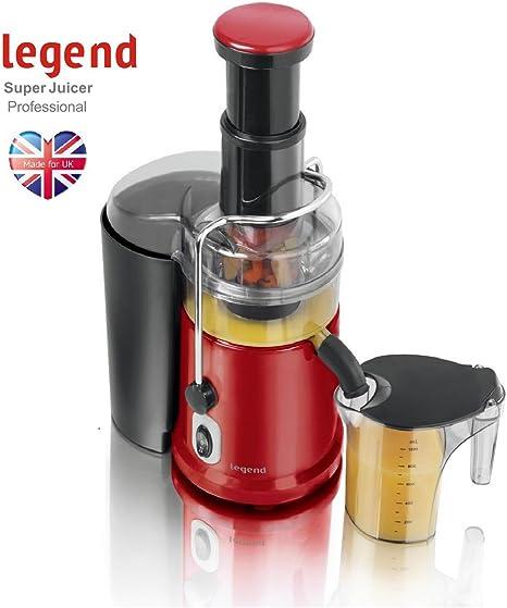 Legend Red Pro 900W Whole Fruit Power Juicer Vegetable Citrus Juice Extractor