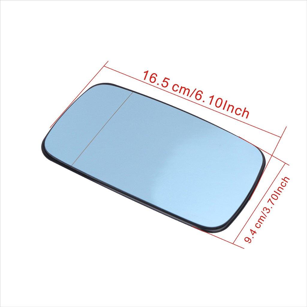 Kitty Party Heated Wing Mirror Glass For BMW E39/E46 323i 328i 525i 528i 540i (Right: Passenger Side)