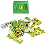 Lisciani - 47420 - Puzzle Avec Cadre - Baby Form Avec Les Animaux De La Ferme - 25 Pièces