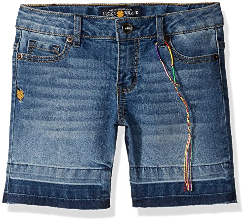Belt Clothing Brands (Lucky Brand Little Girls' Released Hem Bermuda Short, Allie Wash,)