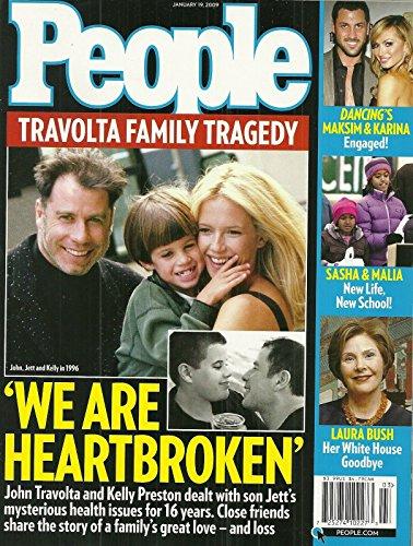 John & Jett Travolta & Kelly Preston * Laura Bush * Sasha & Malia Obama * Maksim Chmerkovsky & Karina Smirnoff (Dancing With the Stars) * Sarah & Todd Palin * January 19, 2009 People Weekly Magazine