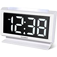 Housbay Digital Alarm Clocks for Bedrooms - Handy Night Light, Large Numbers with Display Dimmer, Dual USB Chargers, 12…