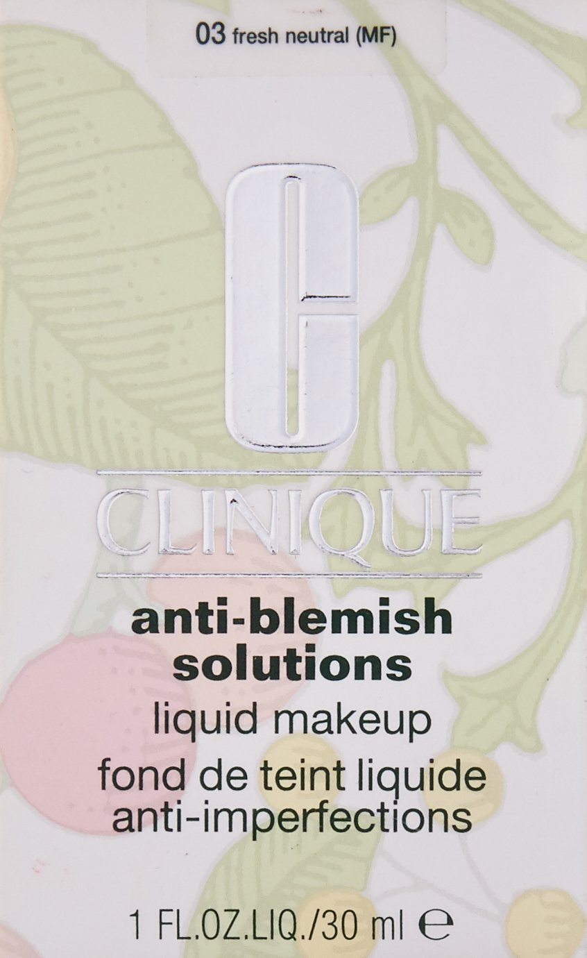 Clinique Anti Blemish Solutions Liquid Makeup, No. 03 Fresh Neutral, 1 Ounce