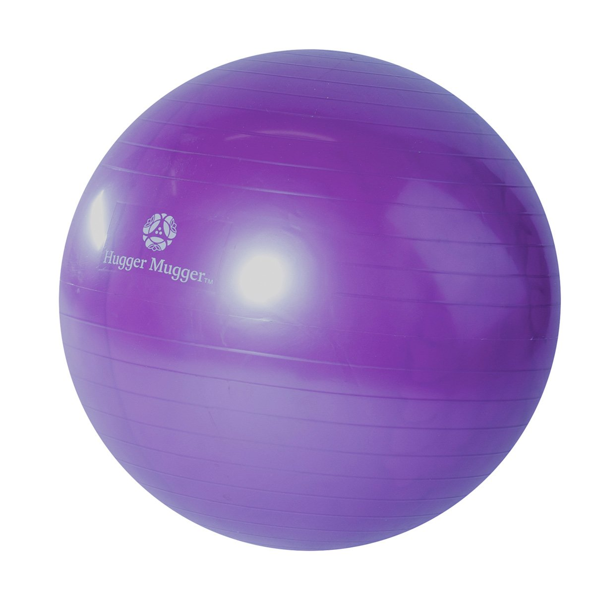 Hugger Mugger Yoga Exercise Ball (Purple, 65mm)