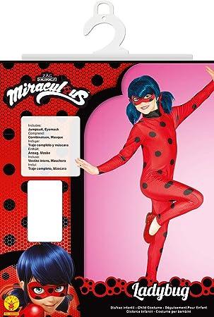 Rubies Ladybug - Disfraz para niños, Talla XL (9-10 años): Amazon ...