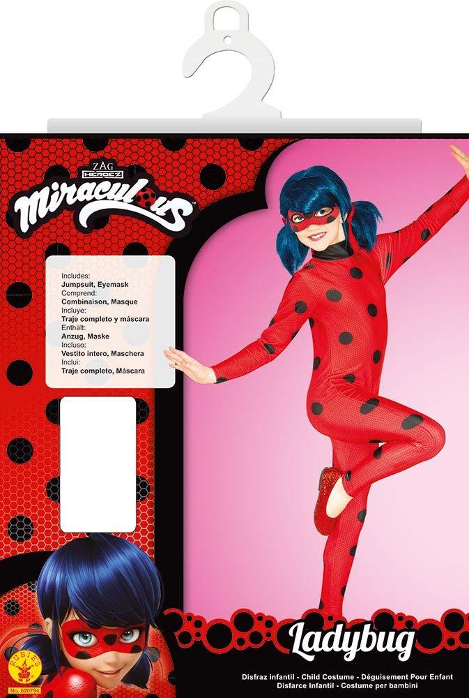 Rubies Ladybug - Disfraz para niños, Talla L (7-8 años): Amazon.es ...