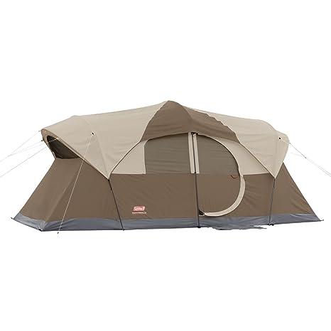 Coleman WeatherMaster 10 Person Hinged Door Tent Review