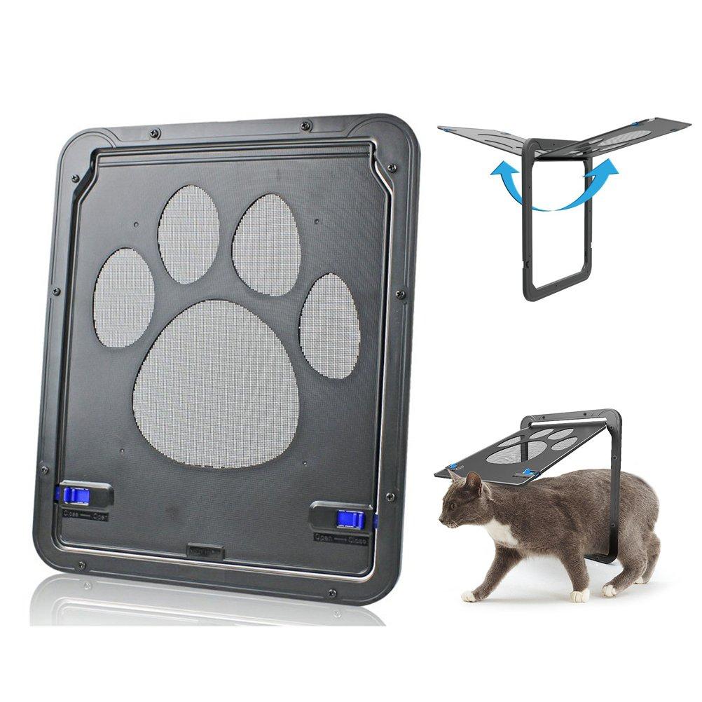 Jeerui Puerta para Mascotas - Ventana para Puerta de Perro, Puerta de Pantalla para Gatos/Perros, 14,5 x 16,5 Pulgadas: Amazon.es: Productos para mascotas