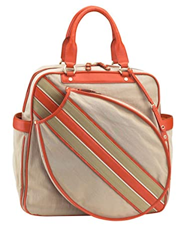 699b56b06d Cole Haan Dylan Racquet Bag (Natural Spicy Orange) (One Size ...