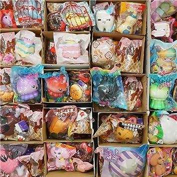 Kawaii Enorme bolsa sorpresa de squishys de Halloween: Amazon.es ...