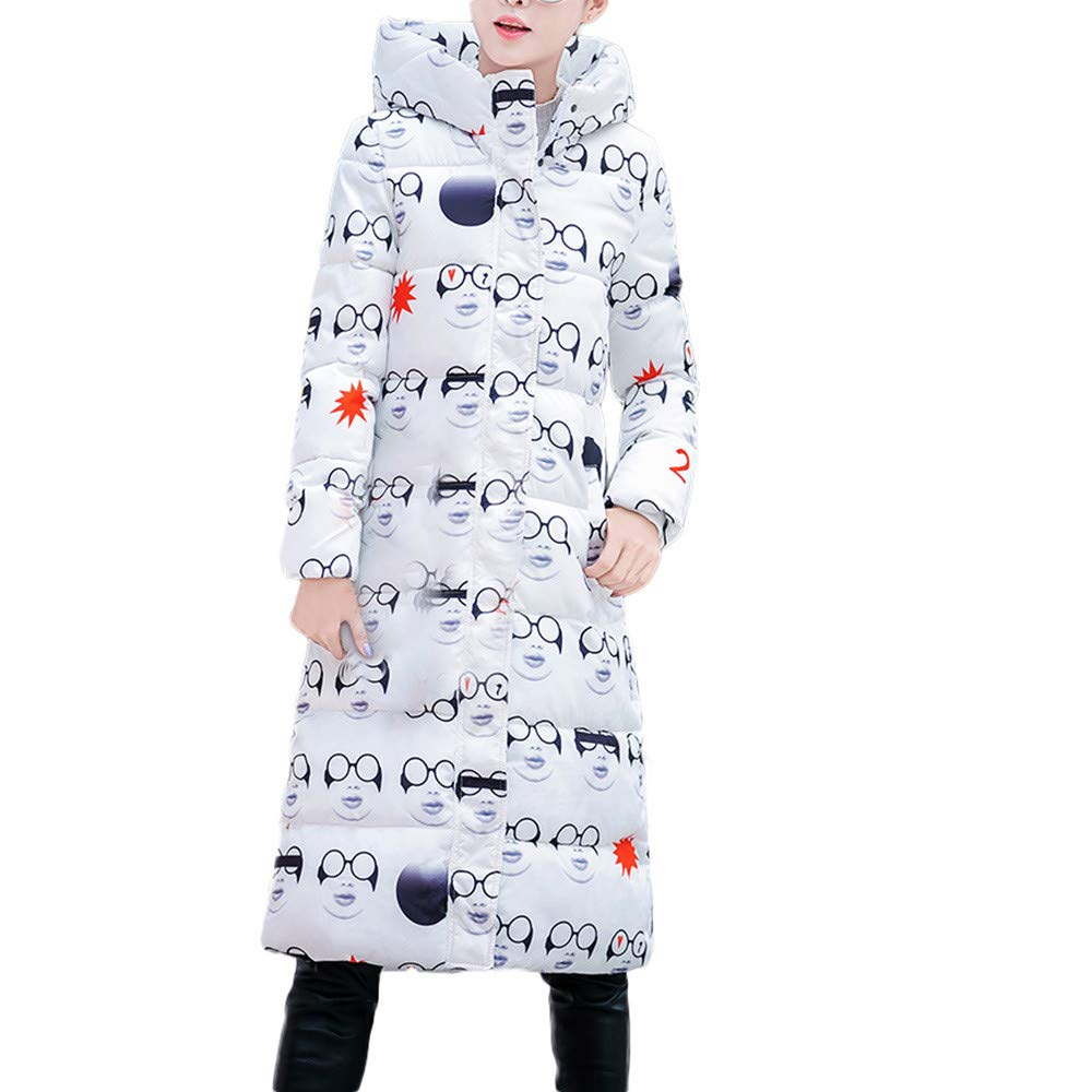 Women Outercoat Musheng Clothes Women Winter Warm Long-Sleeved Outerwear Hooded Coat Slim Cotton-Padded Jacket