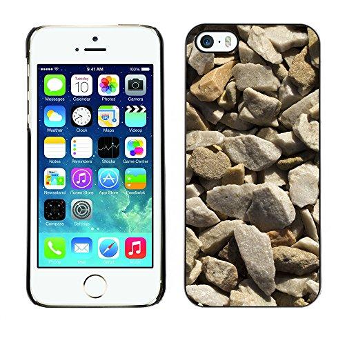 Premio Sottile Slim Cassa Custodia Case Cover Shell // V00002431 Texture Gravel // Apple iPhone 5 5S 5G