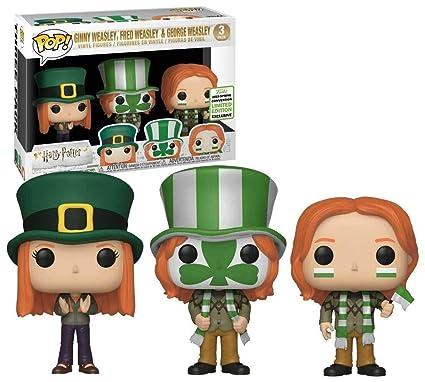 Amazon.com: POP! Funko Ginny Weasley, Fred Weasley, & George ...