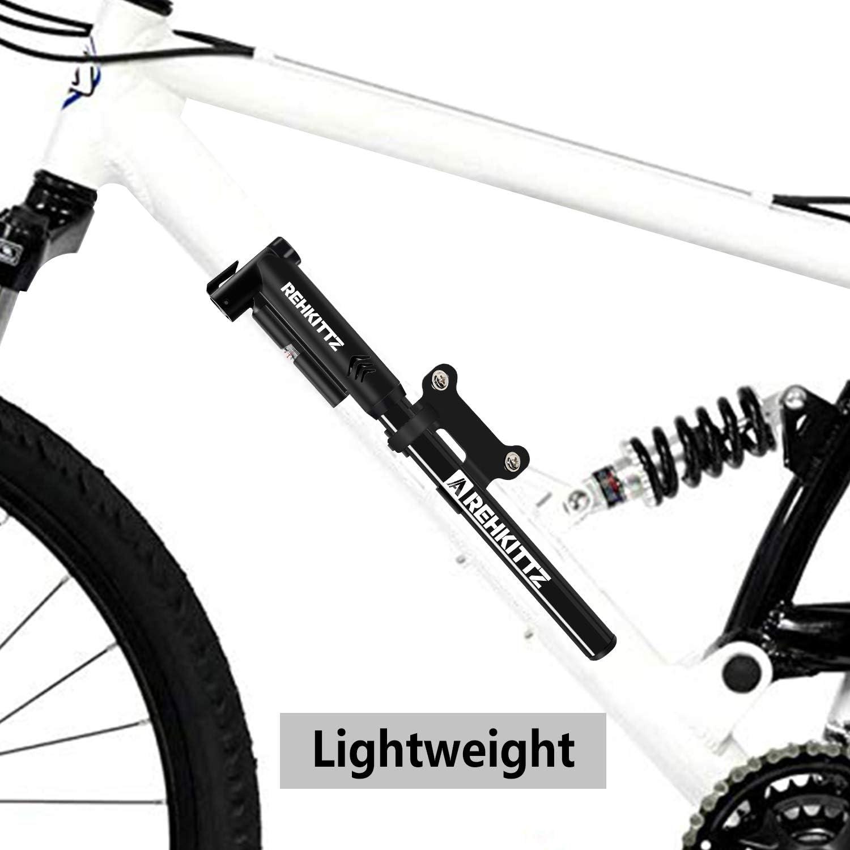 AMZOON Hinchador Bici Inflador Mini Bomba de Aire Bicicleta ...