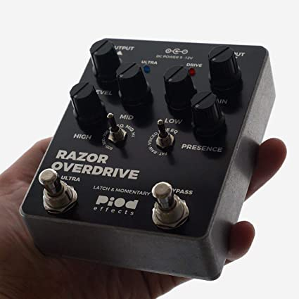 Amazon.com: Piod Effects Razor Overdrive Ultra Hand built in the Ukraine Fast,Fast US Ship: Musical Instruments