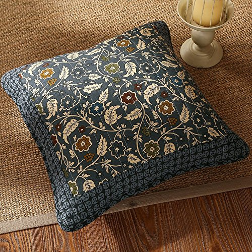 Tache 2 Piece Royal Chambers Patchwork Floral Cushion Throw