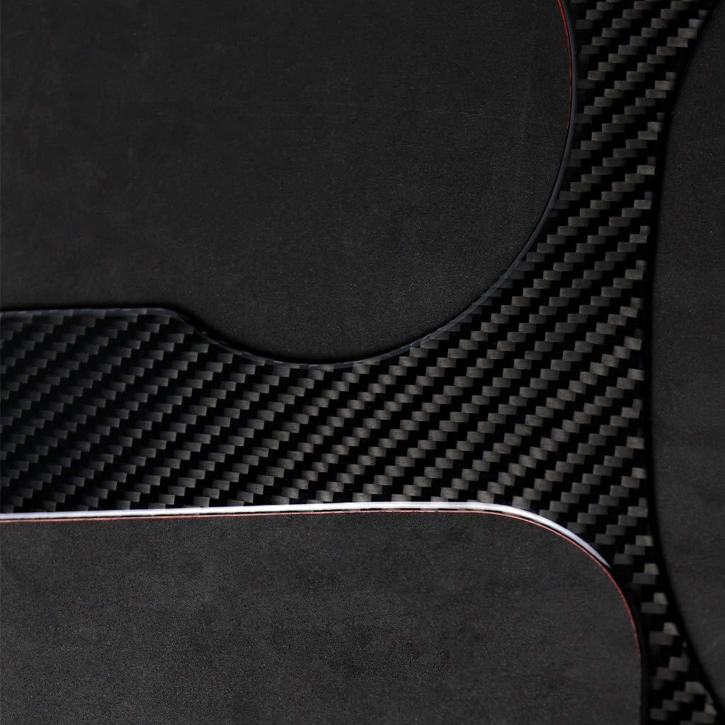 Cikuso Per Mustang in Fibra di Carbonio di Controllo del Cambio Pannello di Copertura Decorativo Car Styling Sticker 2015 2016 2017 Accessori per Automobili