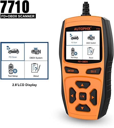 AUTOPHIX 7710 is a ideal Ford scan tool for auto enthusiasts