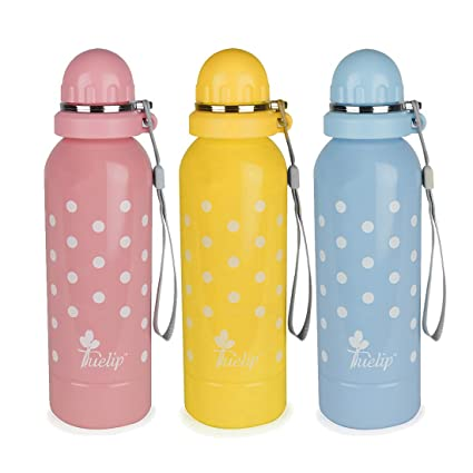 e8ae211c5c1 Buy Tuelip Stainless Steel Water Bottle for School Going Kids Girls   Boys