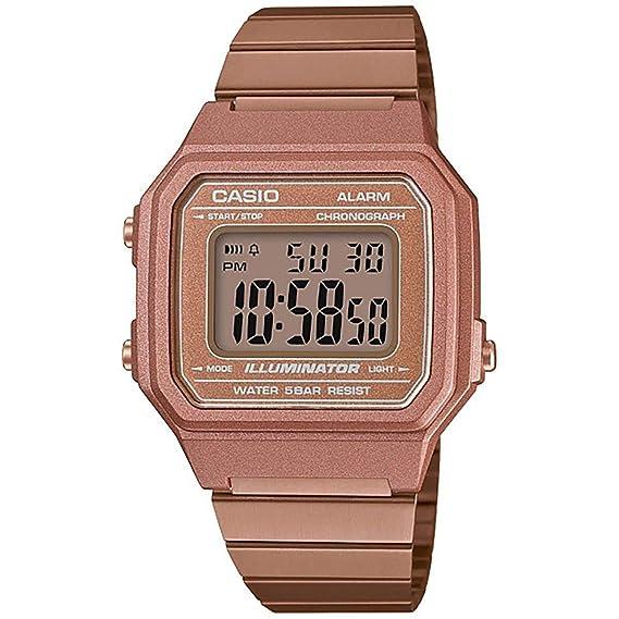 c465c1f11 Relógio Feminino Casio Vintage Digital B650WC-5ADF - Rose  Amazon ...