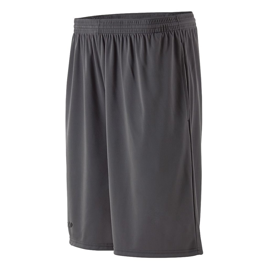 Holloway Dry Excel Youth Whisk Shorts (Youth Medium, Graphite) by Holloway