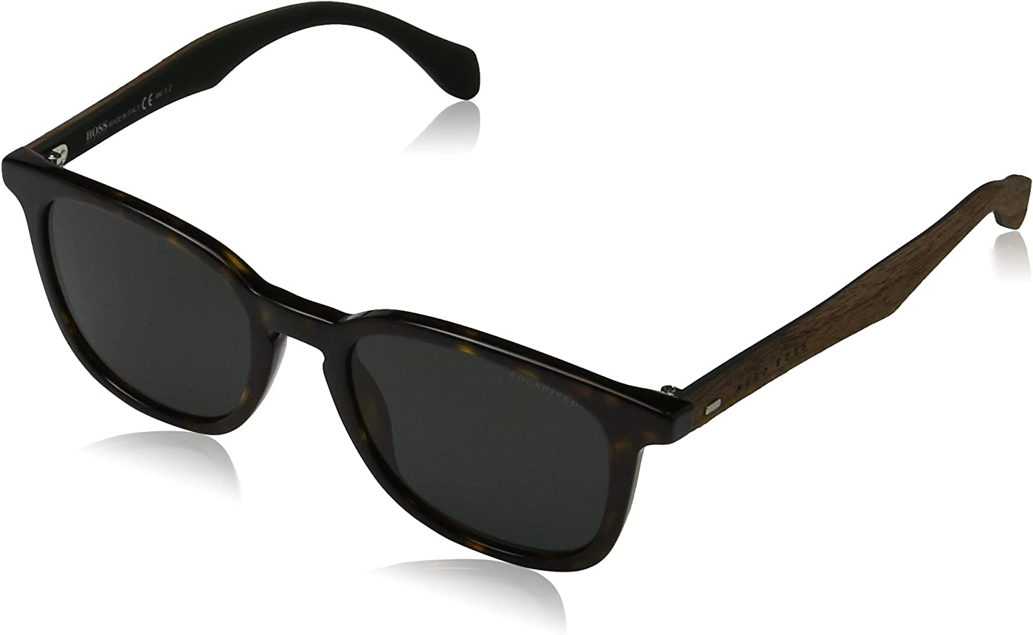 BOSS Hugo 0843/S RA RAH gafas de sol, Marrón (Havana Brown/Grey Pz), 52 Unisex-Adulto