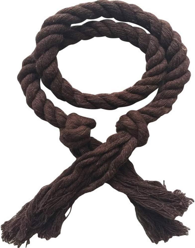 oobest 2/pcs Natural algod/ón Cortina Cuerda Abrazaderas para Blackout Cortinas r/ústico Mano Decorativo de Las alzapa/ños