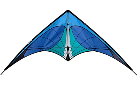 Let There Be Lights And Kites Again >> Amazon Com Prism Nexus Dual Line Stunt Kite Blue Sports Outdoors