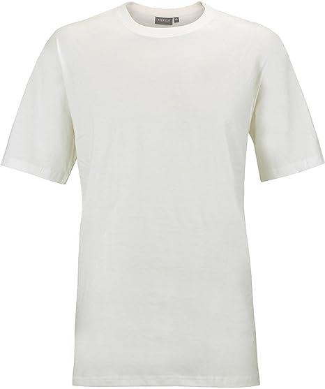 Redfield Camiseta Double Pack Hombre Oversize Blanco, 2xl-10xl:3XL: Amazon.es: Ropa y accesorios