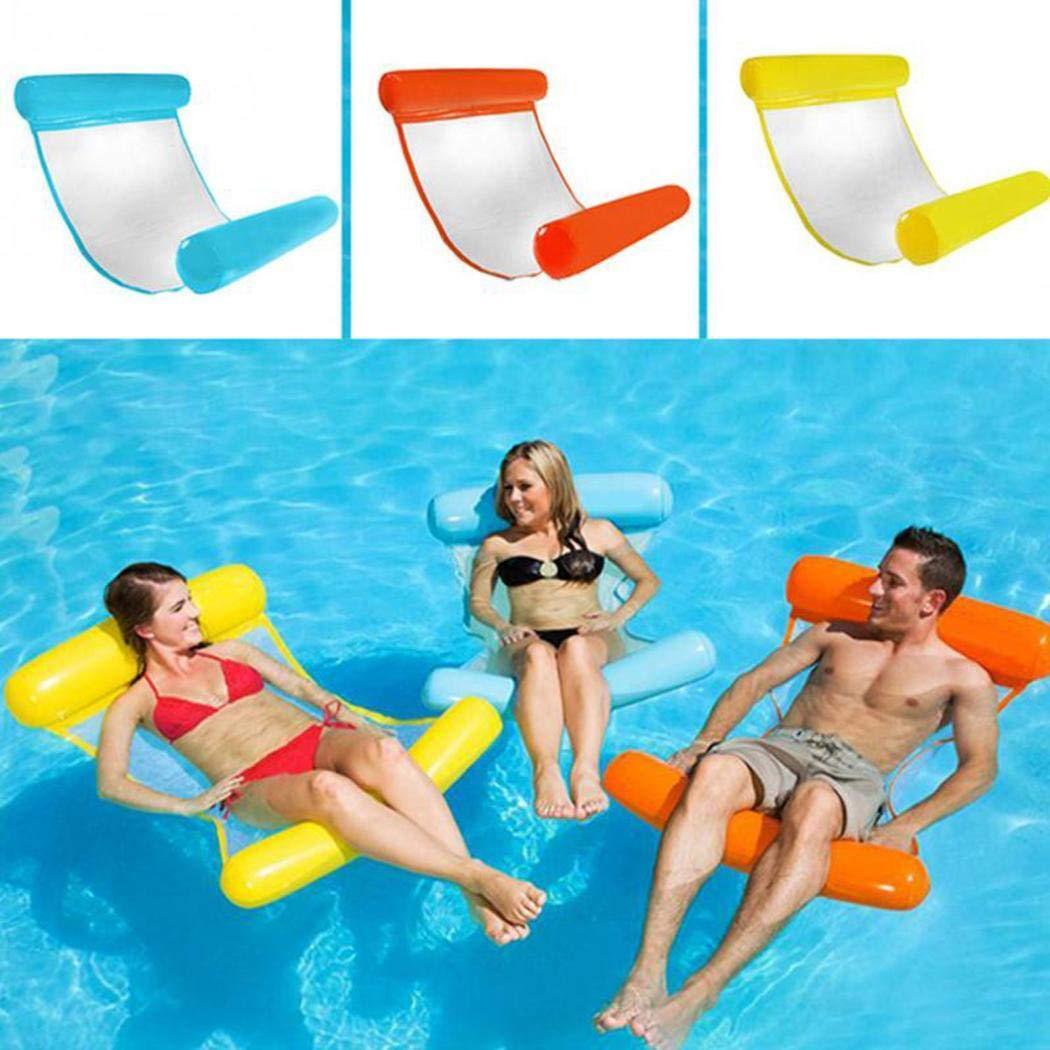 KOKOBUY Summer Outdoor Swimming Chair Inflatable Folding Floating Water Hammock