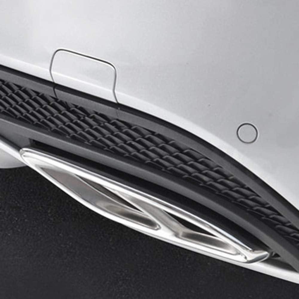 f/ür Mercedes Benz GLC A B C EClass W205 Coup/é W213 W176 W246 2016 17 Autozubeh/ör AMG Auspuffblende 304 Auspuff