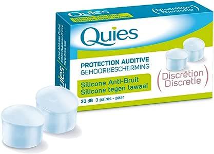 Tapones para oídos de silicona Anti-ruido – Caja de 6 unidades ...