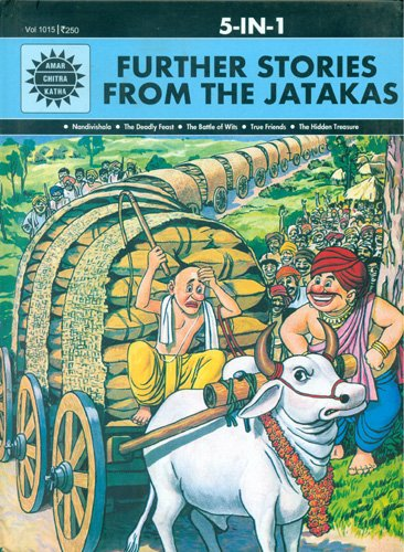 Further Stories From the Jatakas (Amar Chitra Katha 5 in 1 Series)