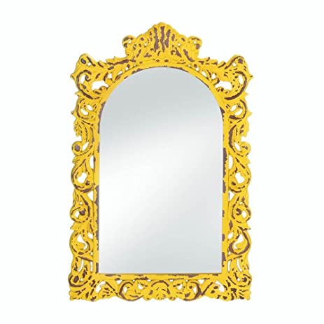 Amazon.com: Wall Mirrors Decorative, Square Antique Rustic Opulent ...