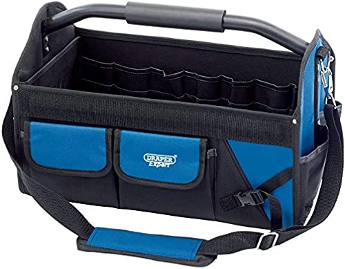 Draper Tools 31595 45 Litre Expert Tote Tool Bag with Heavy Duty Base